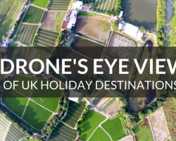 A Drone's Eye View of UK Holiday Destinations