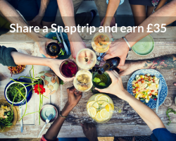 Share a Snaptrip and earn £35