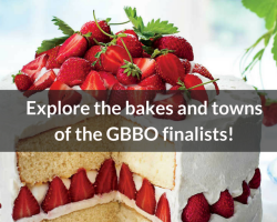 Explore the bakes and towns of the GBBO finalists