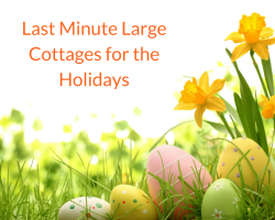 Last Minute Large Cottages for the Holidays