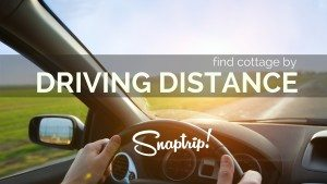 Find a Cottage by Driving Time