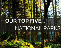 Celebration of Britian's Top 5 National Parks