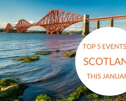 Top 5 events in Scotland this January
