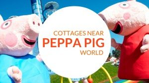 Cottages near Peppa Pig World