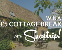 Win a cottage break for a FIVER with Snaptrip!