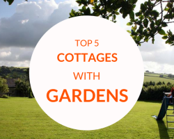 Top 5 Cottage Holidays with Gardens