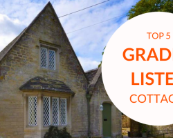 Top 5 Grade II Listed Holiday Cottages