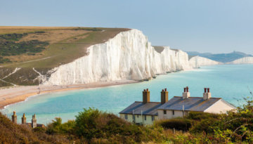 Marvel the chalky cliffs when you visit South Downs