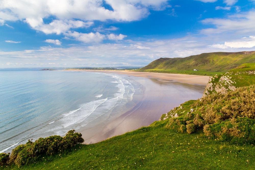 Rhossili Bay Wales